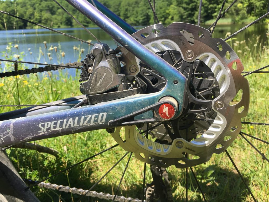 Dont shift mechanical gears while the e-bike is immobile