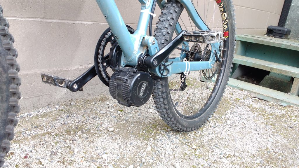 Mid-Drive Conversion Kit Ebike