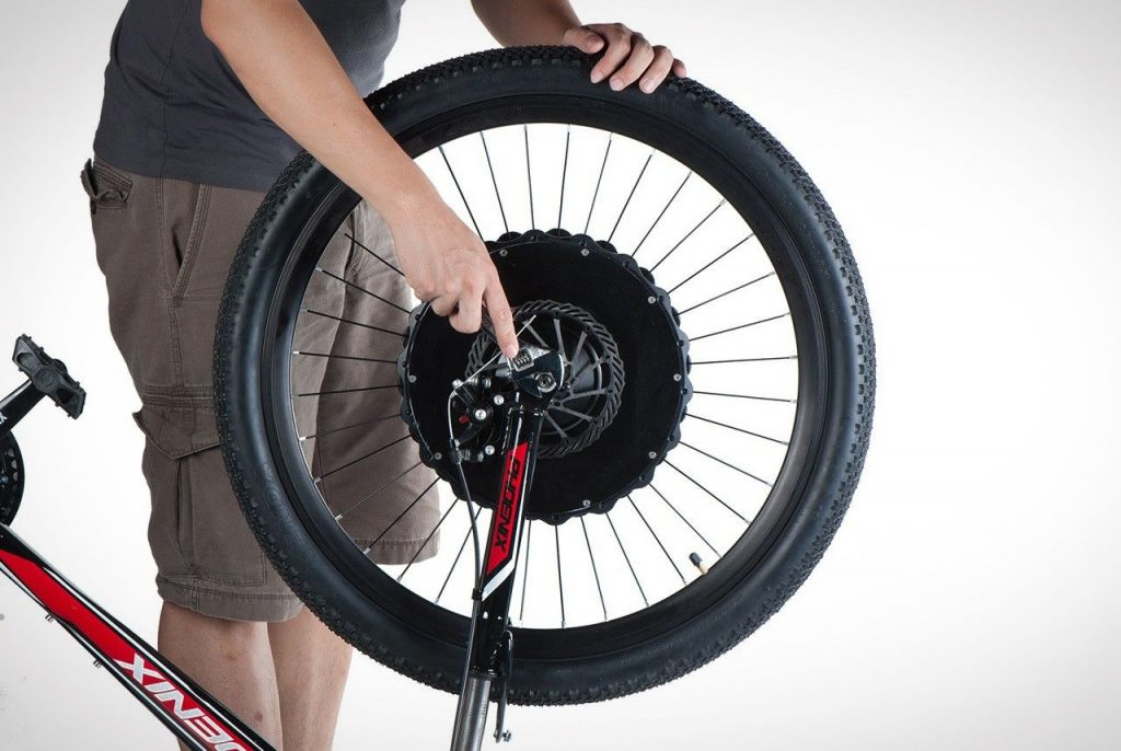 Powered e-Bike Wheel