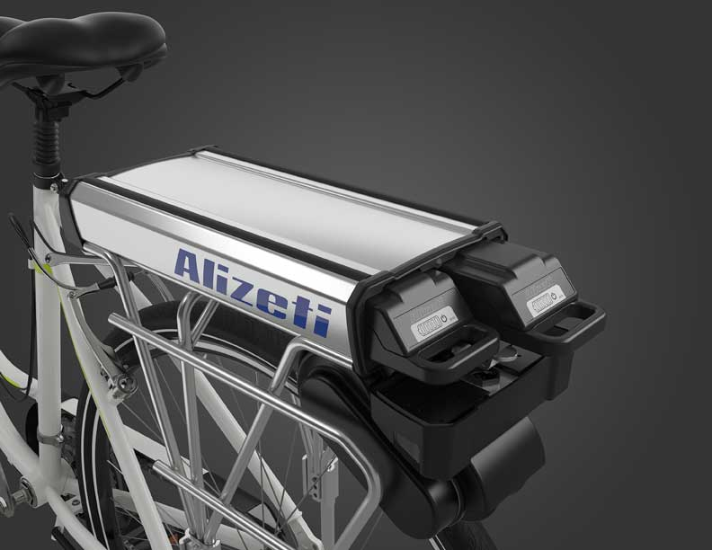 Rear-mounted Friction Drive Kit Ebikes