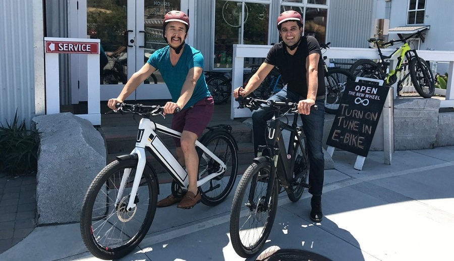 How to ride ebikes?