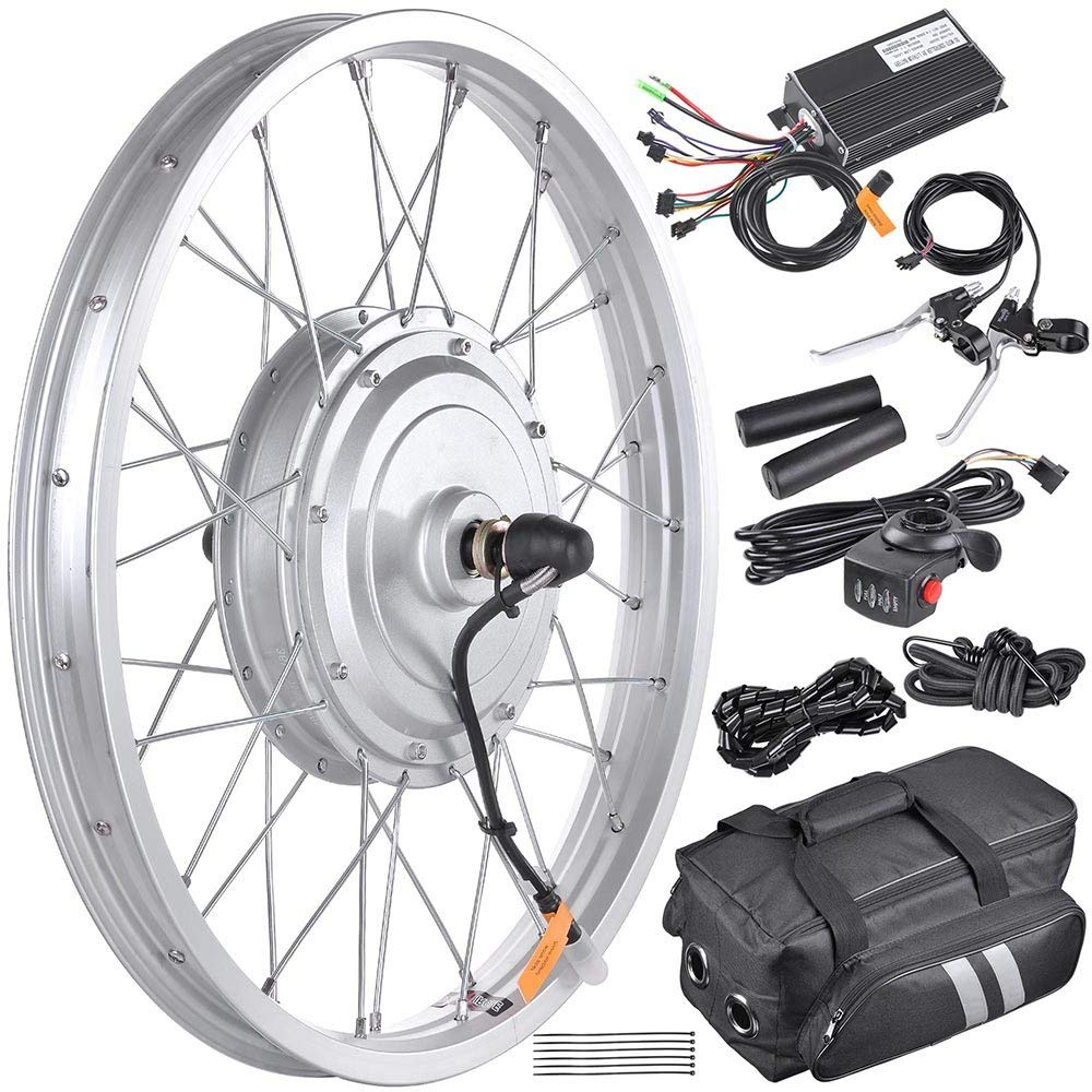 "AW 16.5"" Electric Bike Front Wheel Frame Kit Review"