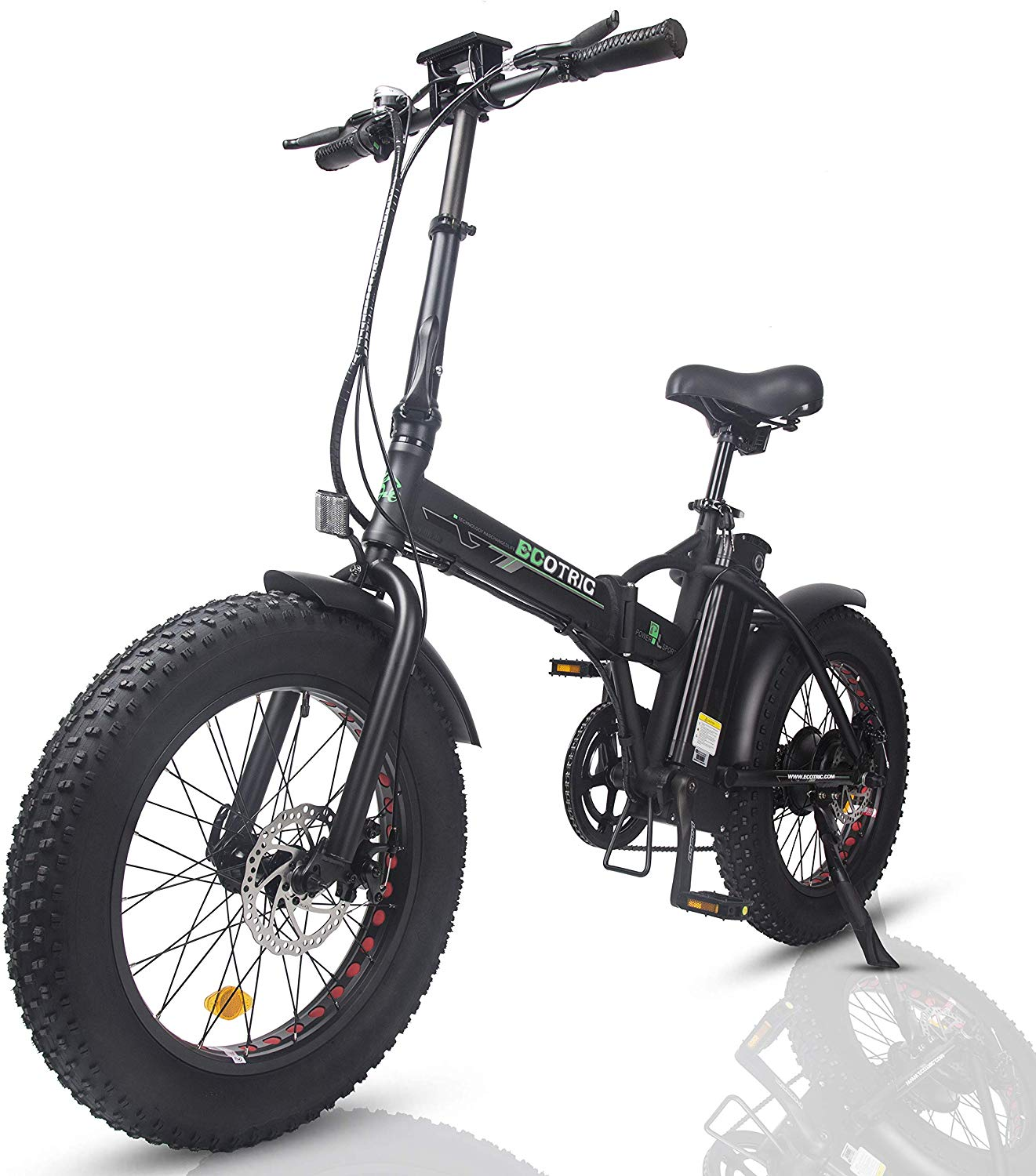 ECOTRIC Electric Foldable Bike Beach Review