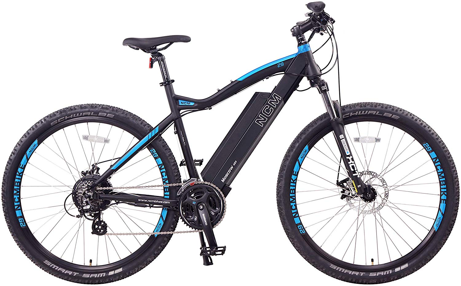 NCM Moscow Electric Mountain Bike Review