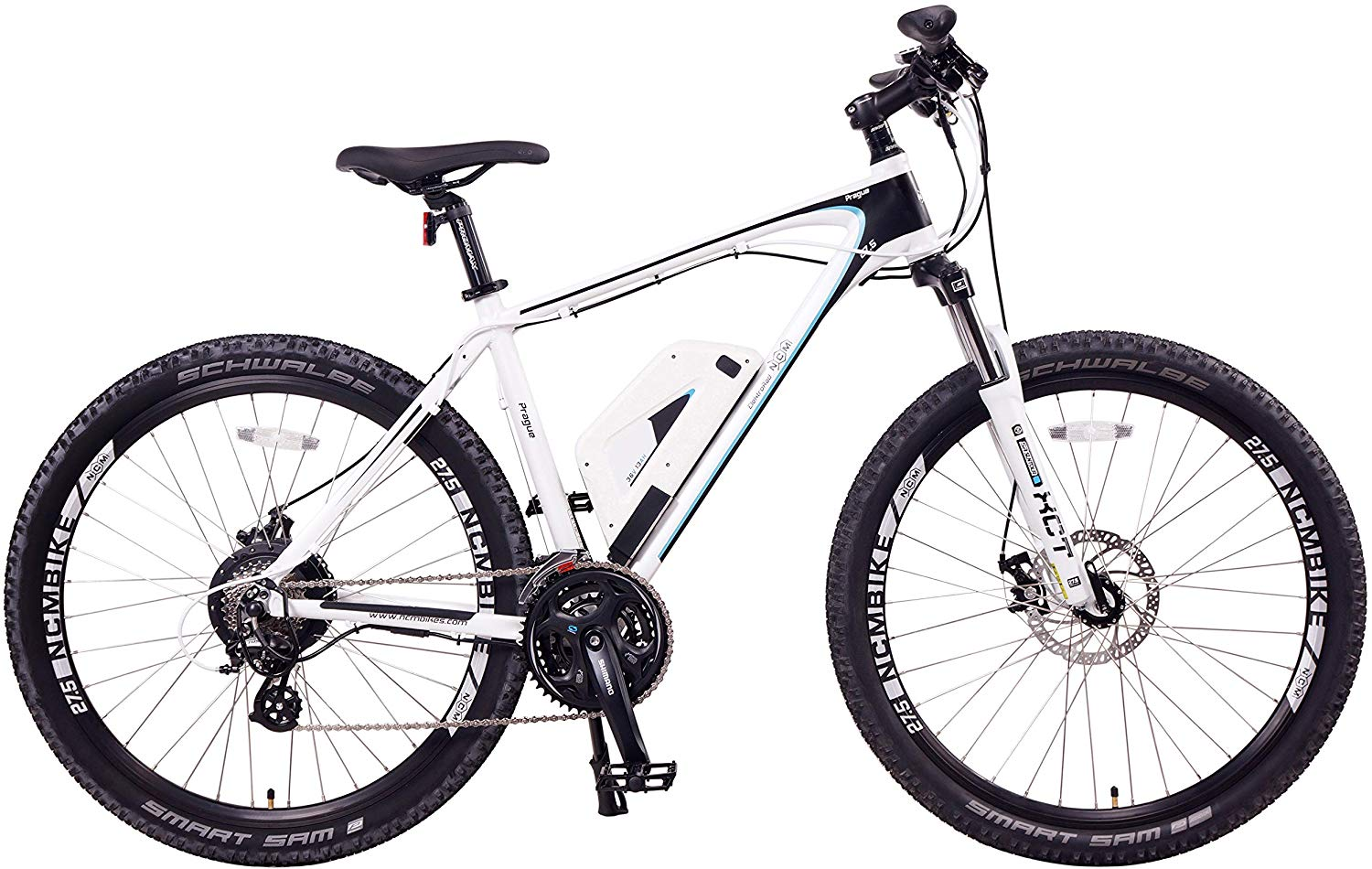 NCM Prague Electric Mountain Bike Review