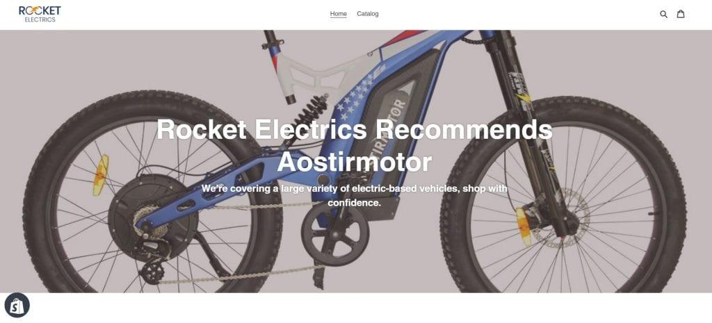 Aostirmotor store on Shopify
