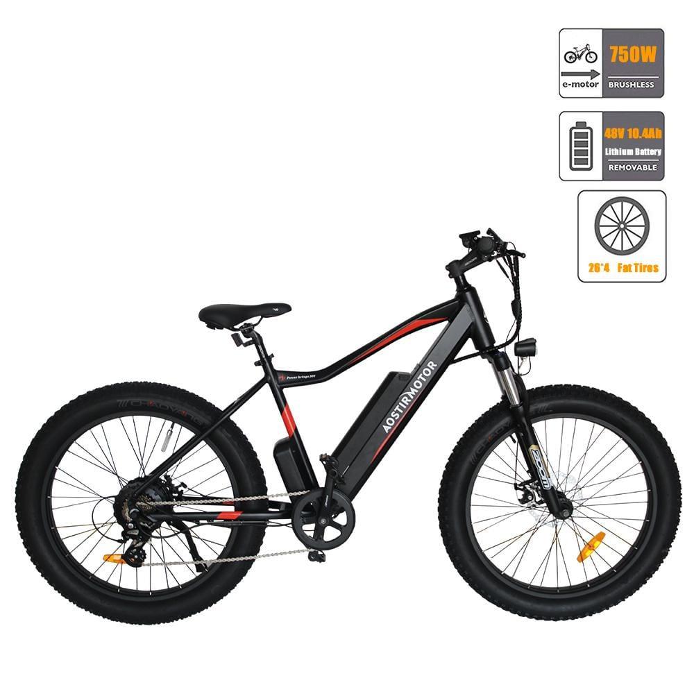 Aostir ELECTRIC MOUNTAIN BICYCLE FAT WHEEL