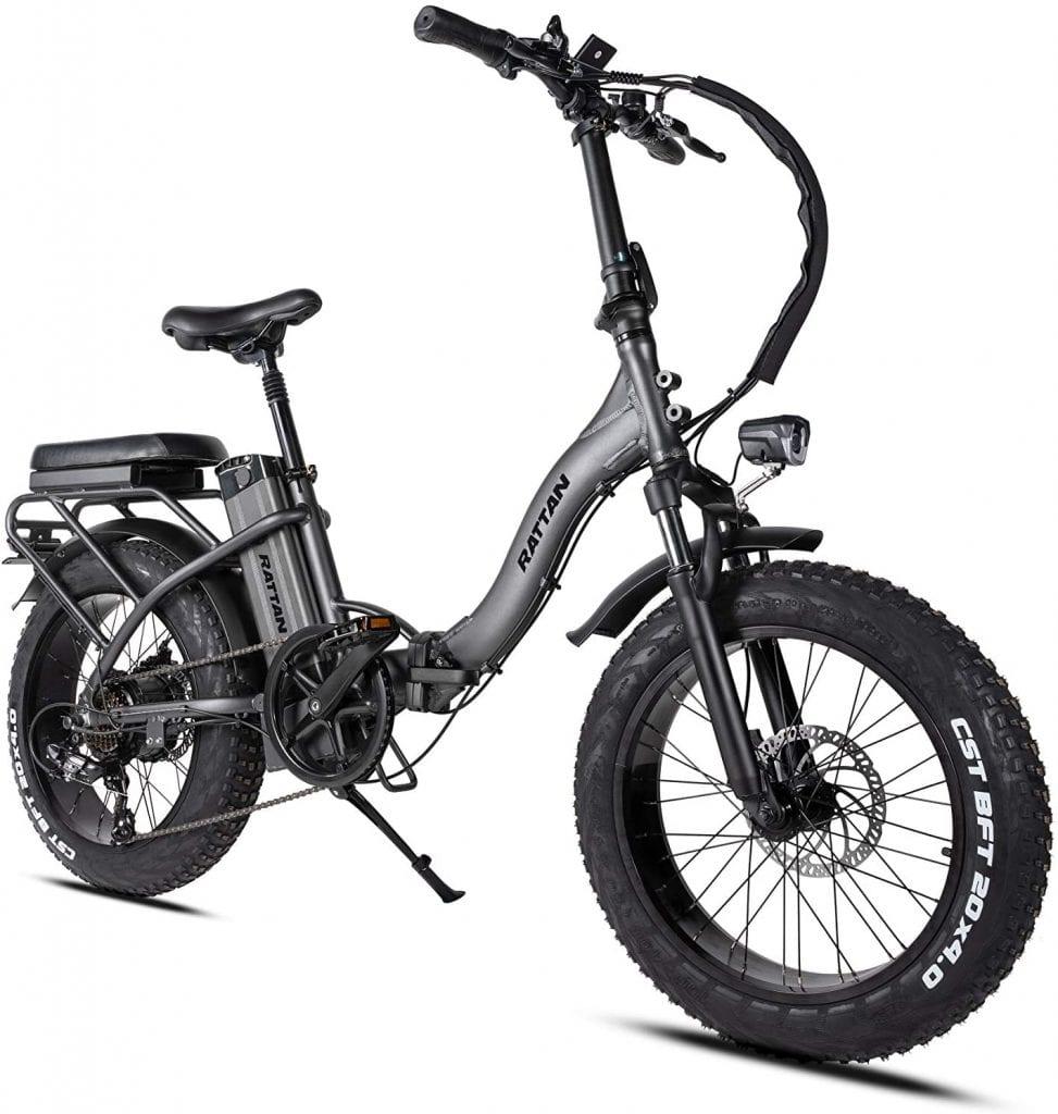 Rattan e-bike
